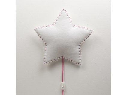 Buokids Nástěnné svítidlo Softlight Hvězdička