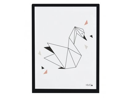 Lilipinso Plakát Swan 40 x 30 cm