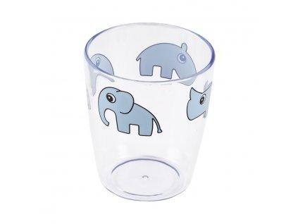 1382 yummy mini sklenicka modra