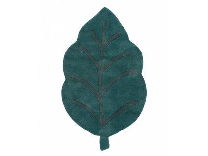 tapis feuille enfant coton h0540