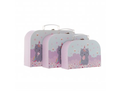 GIF087 A Caticorn Setof3Suitcases Group (1)