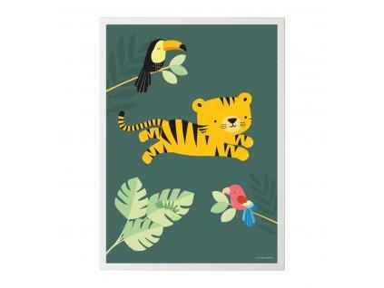 potigr40 lr 1 poster jungle tiger
