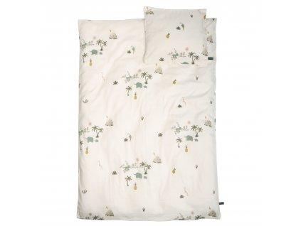 Roommate Junior bedding GOTS Tropical(1003008)