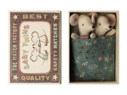Maileg Myší dvojčata v krabičce