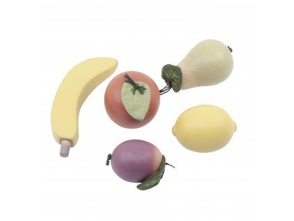 Sebra Dřevěné ovoce