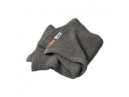 Vaflová deka 80 x 100 cm - šedá