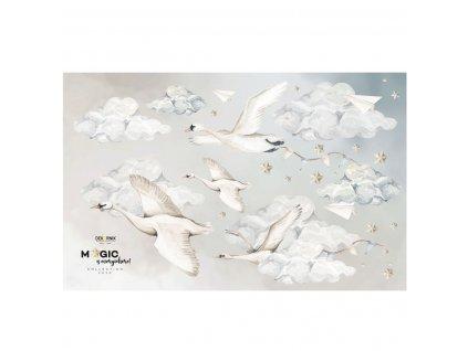dekornik magic swans