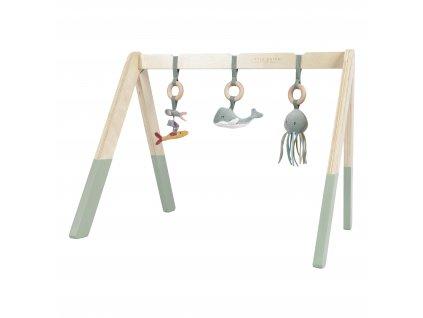 4835 Dřev. hrazdička+3zvířátka mint (8) (1)