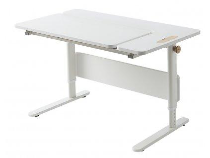 Flexa Psací stůl s nastavitelnou deskou Vlevo
