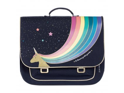 unicorn gold midi satchel