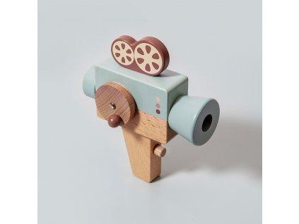 Petit Monkey Dřevěná videokamera