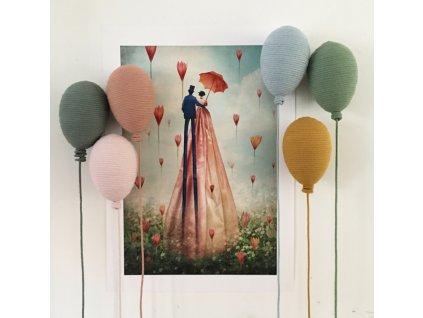 Závěsný balónek Mini 15 cm