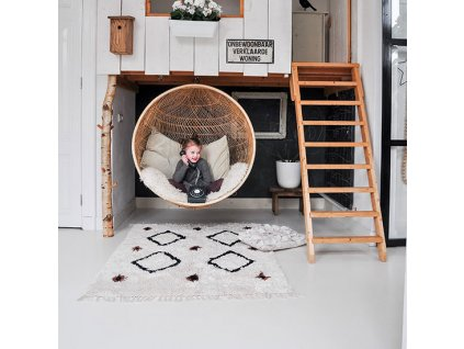 tapis petit rug jet black tapis petit