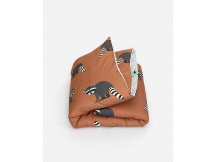 dekbedovertrek raccoon thumb 1