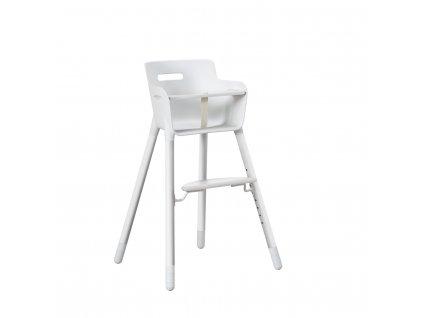 Flexa Dětská židlička s bezpečnostním pásem Bílá