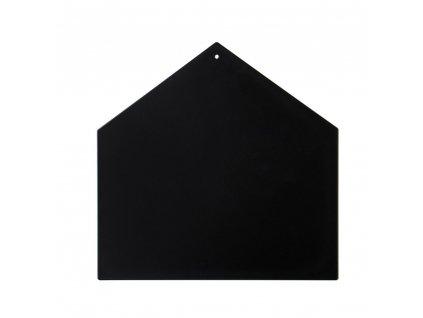 Magnetická tabule domeček černá