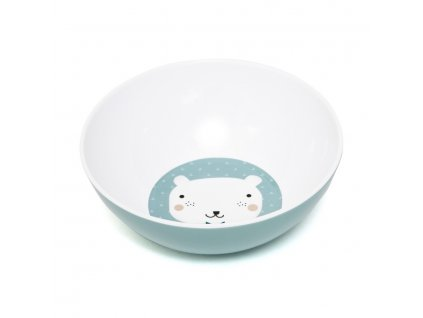 Melamine bowl bear triangle MB6