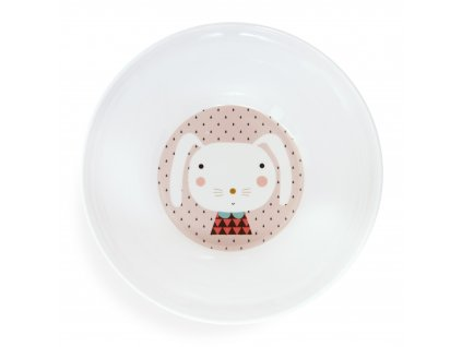 Melamine bowl rabbit drops MB8 b