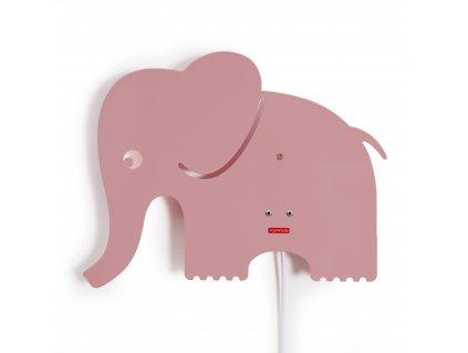 Roommate Elephant lamp rose (21043)