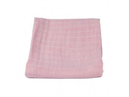 Mušelínová plenka - tmavě růžová