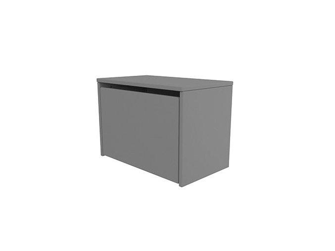 Flexa Úložný box 3 v 1 šedá