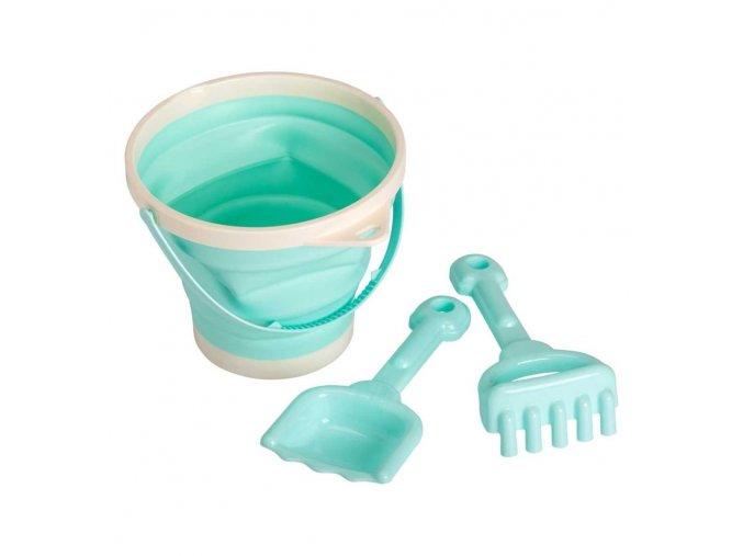 bsgree02 lr 1 bucket and spade set mint
