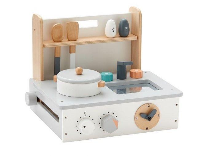 kids concept houten keukentje naturel wit a 1