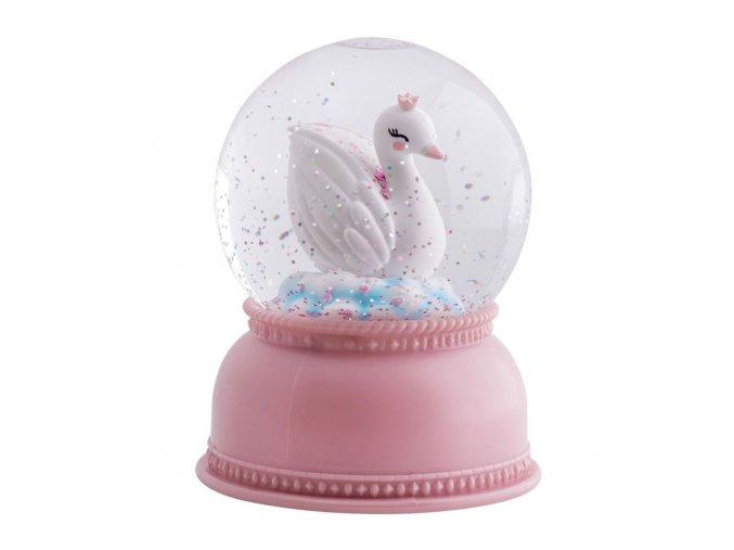 sglovl03 lr 1 snowglobe light swan