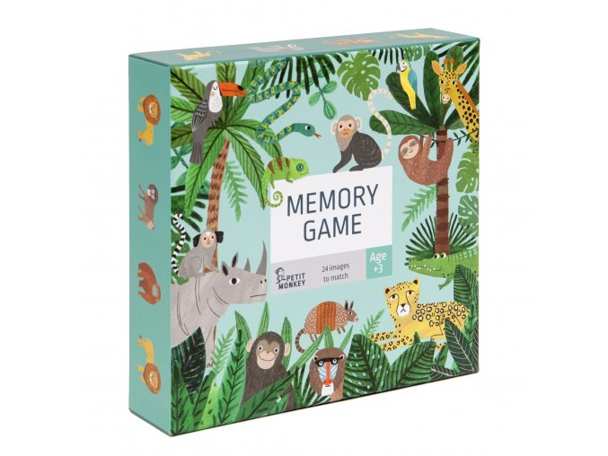 memory game jungle animals pmg010