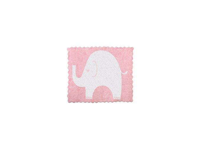 Aratextil Koberec Elefantito růžový 120 x 160 cm
