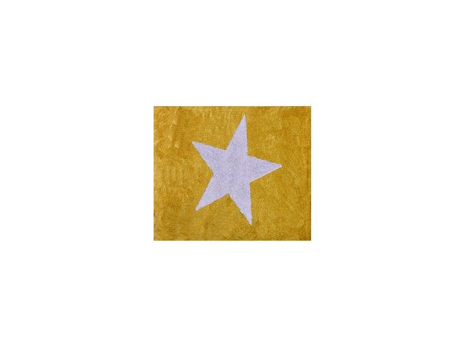 Aratextil Koberec Estela žlutý 120 x 160 cm