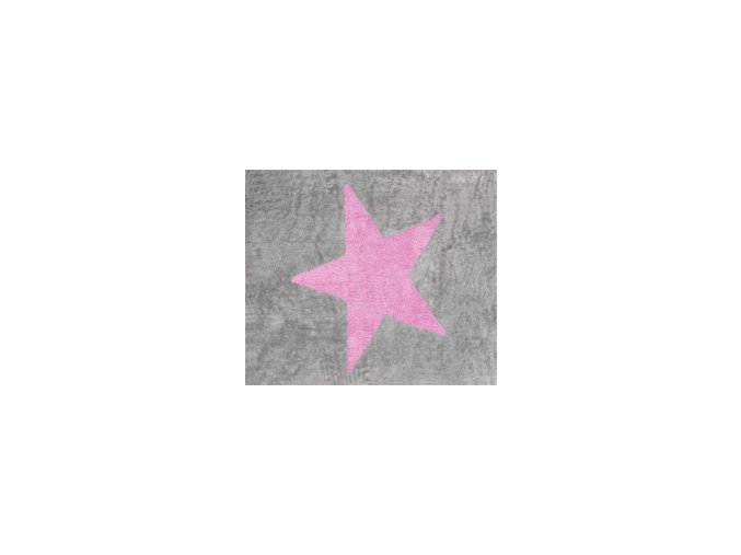 Aratextil Koberec Estela šedo růžový 120 x 160 cm