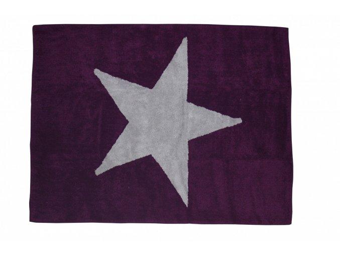 Aratextil Koberec Estela  tmavě fialový 120 x 160 cm
