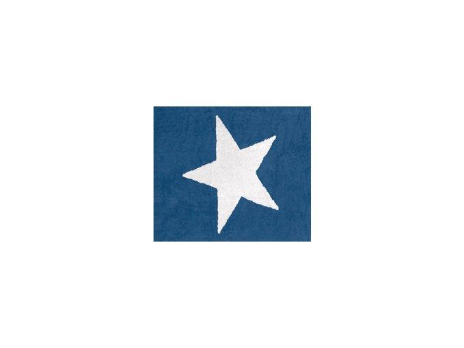 Aratextil Koberec Estela tmavě modrý 120 x 160 cm