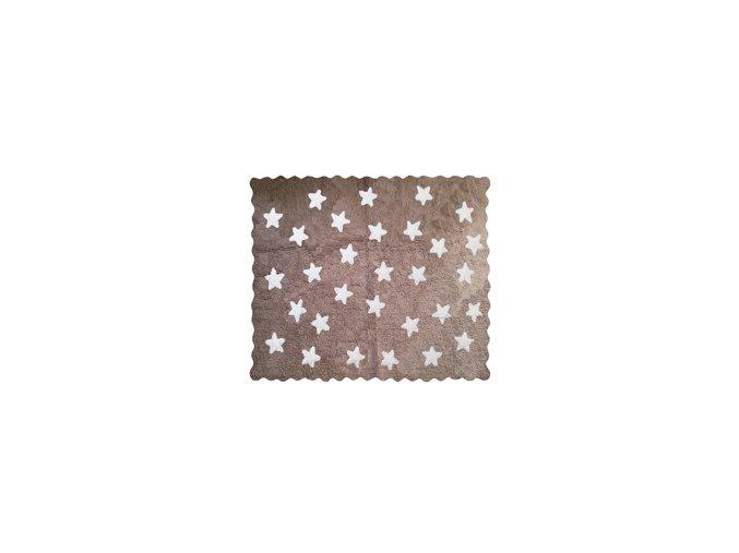 Aratextil Koberec Eden světle hnědý 120 x 160 cm