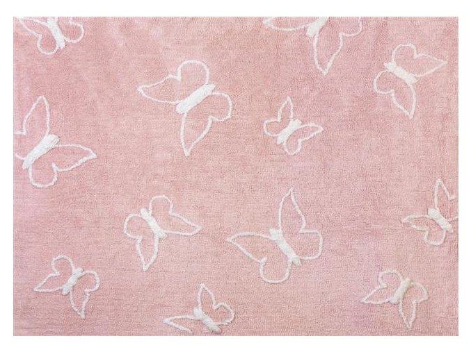 Aratextil Koberec Mariposa růžový 120 x 160 cm