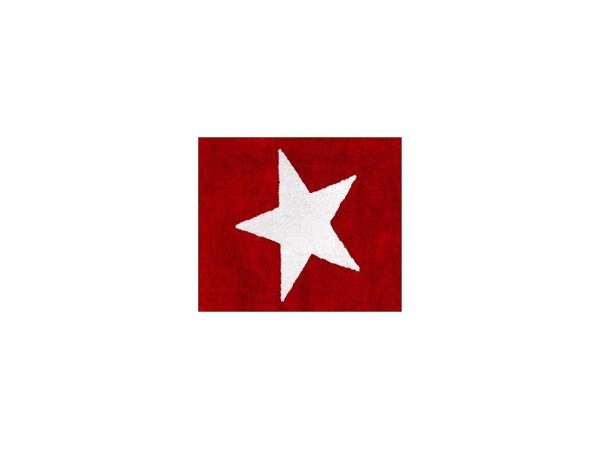 Aratextil Koberec Estela červený 120 x 160 cm