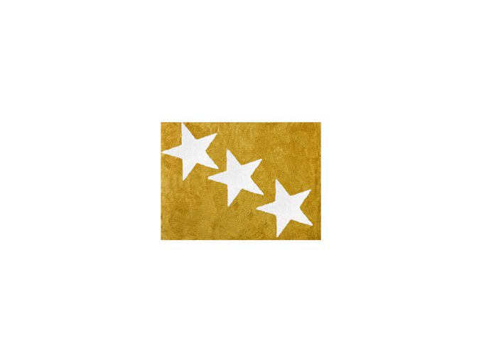 Aratextil Europa Koberec žlutý 120 x 160 cm
