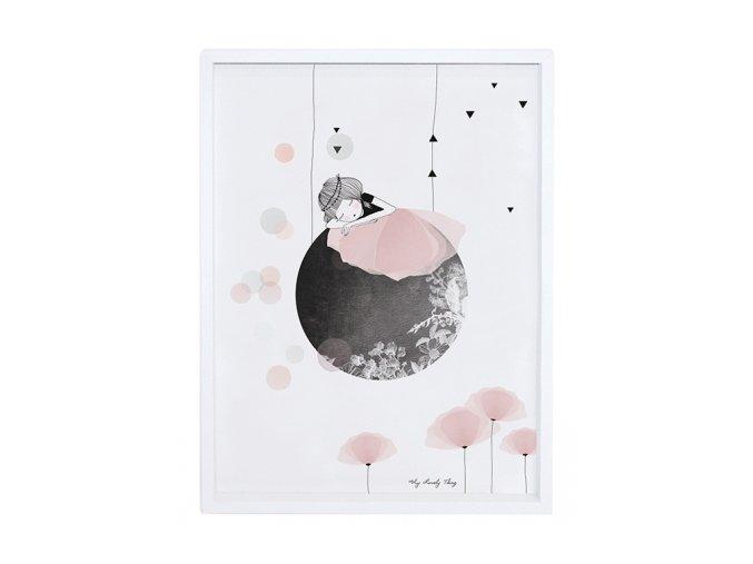 Lilipinso Plakát Sieste 40 x 30 cm
