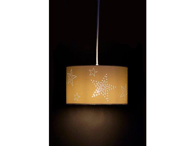 Aratextil Závěsná lampa  Laura Blanco 30 cm