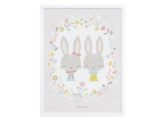 Lilipinso Plakát  Rabbits 30 x  40 cm