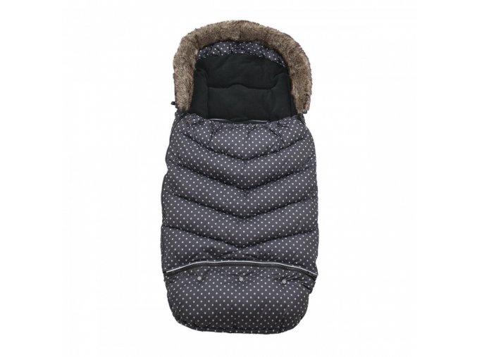 Vinter & Bloom Fusak Mini Dots Ebony Black 110 cm