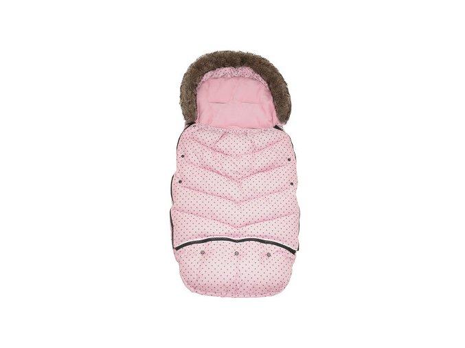 Vinter & Bloom Fusak Mini Dots Cotton Candy 110 cm