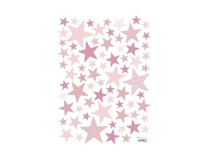 Lilipinso Samolepka My Superstar mix růžová