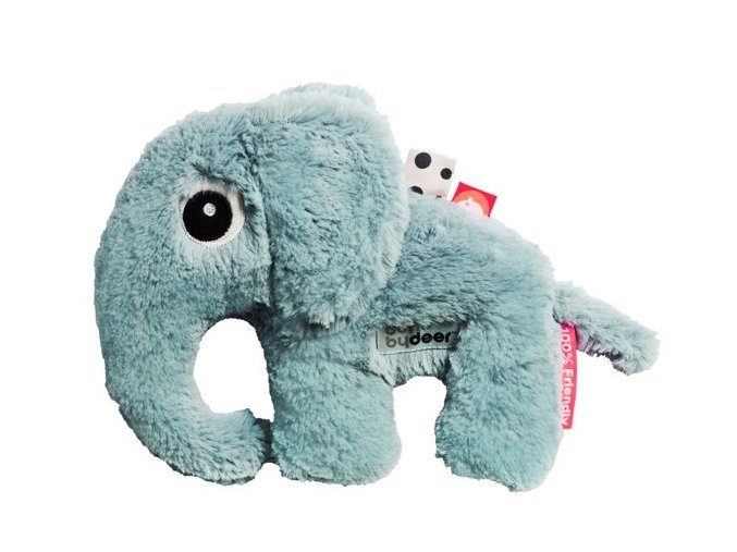DONE BY DEER Mazlivá hračka Elphee malá - modrá
