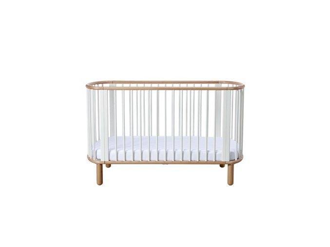 Flexa Baby Dětská postýlka 5 v 1 Buk