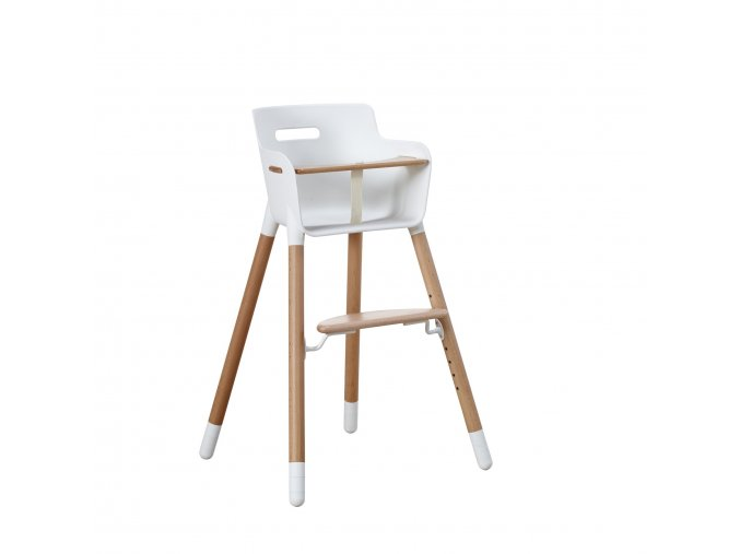 Flexa Dětská židlička s bezpečnostním pásem Buk