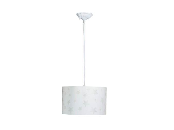 Aratextil Závěsná lampa Martina Bílá 26 x 40 cm