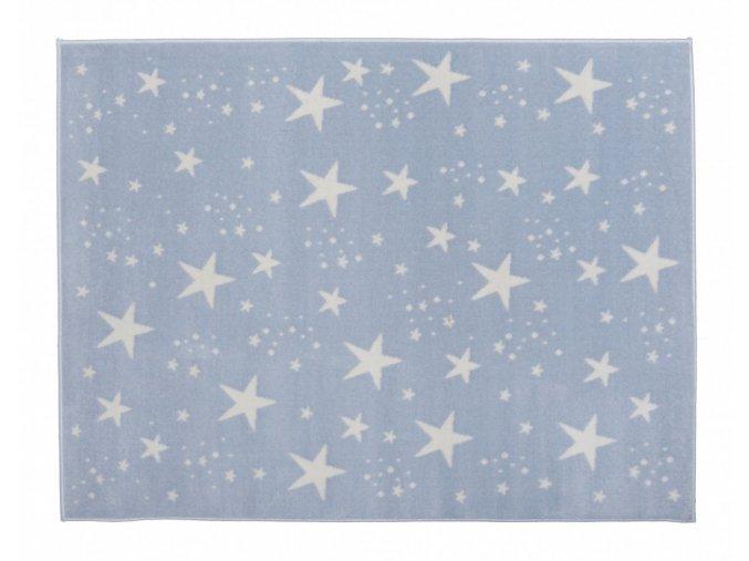 Aratextil Koberec akrylový Estrellas modrý 120 x 160 cm