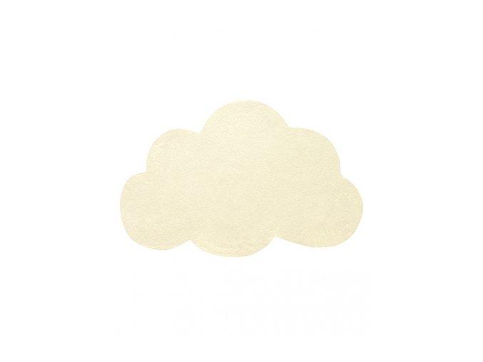 Lilipinso koberec mrak světle žlutý 64x100 cm